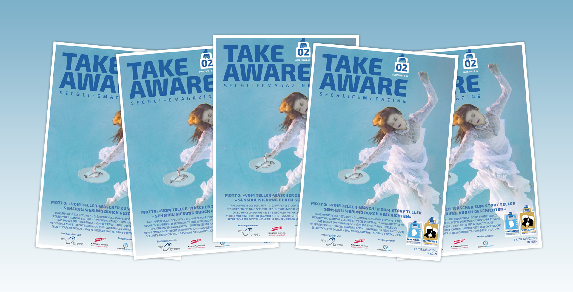 TAKE AWARE SEC&LIFE Magazine
